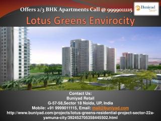 Preeminence Apartments in Lotus Greens Envirocity