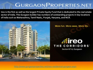 Ireo Residential Projects in Gurgaon