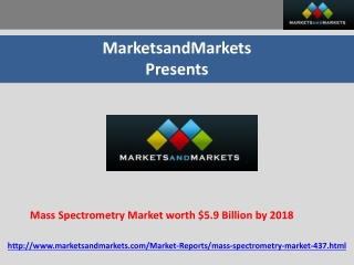 Mass Spectrometry Market expected to reach $5.9 Billion by 2
