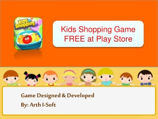 Kids Shopping Game FREE at Play Store