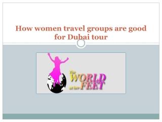 Women travel groups in Dubai
