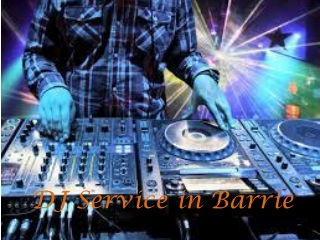 Dj service for Christmas Party