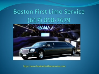 Boston airport limo service