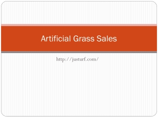 Artificial Grass Sales