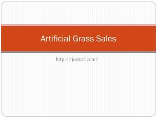 Artificial Grass Sales