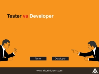 Tester vs Developer