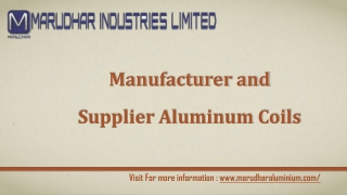 Various Aluminium Products India