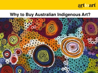 Why to Buy Australian Indigenous Art?