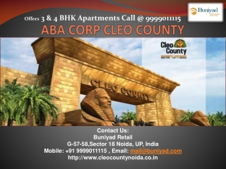 Cleo County - Ultra-Modern Residential Apartments