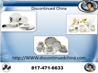Discontinued China-Noritake China,Mikasa China,Lenox China