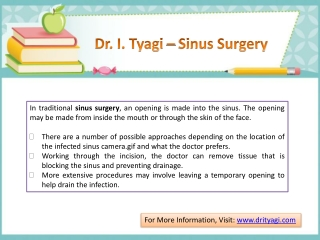 Sinus Surgery in Lucknow