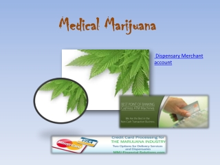 Dispensary Merchant account