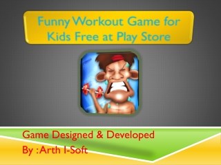 Funny Workout Game for Kids FREE at Play Store