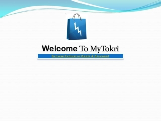 Hot Deals, Discount and Offers in India - Mytokri.com