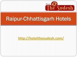 Raipur-Chhattisgarh Hotels || Sudesh Hotel in Raipur
