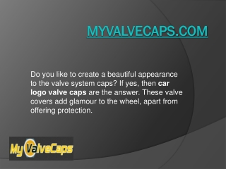Car Logo Valve Caps