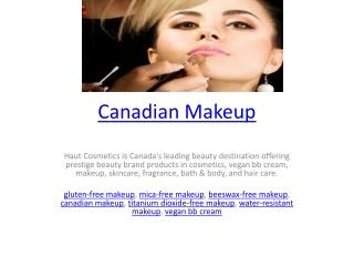 Canadian Makeup