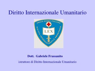 diritto internazionale umanitario