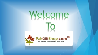 Ramadan Gifts to Pakistan