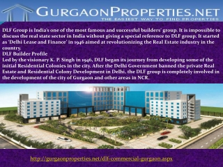 DLF New Commercial Projects in Gurgaon