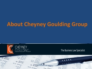 Cheyney Goulding Group