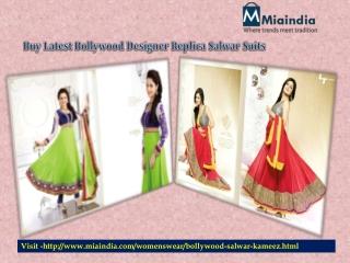 Indian Bollywood Partywear Designer Salwar Suits
