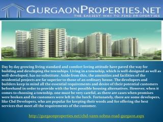 CHD Vann Gurgaon