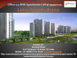 Lotus Greens City | Lotus Greens City Noida | Lotus Greens S