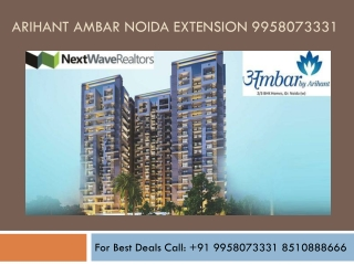 Arihant Ambar Greater Noida Extension