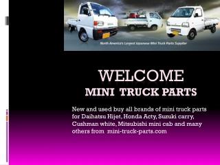 Mini Truck Parts