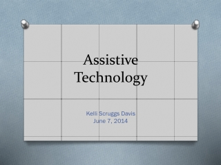 Assistive Technology, ED505