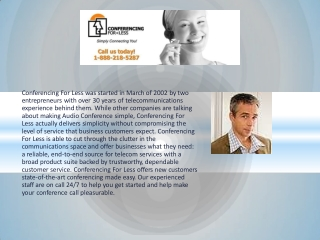 Conference Call Service Providers