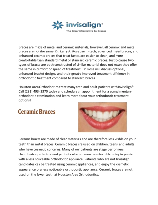 Orthodontics Specialist in Houston