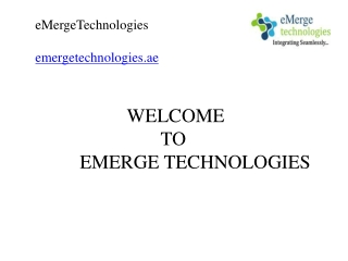 IT System Integrators in  Dubai,IT Companies in Dubai