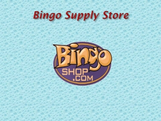 Bingo Supply Store