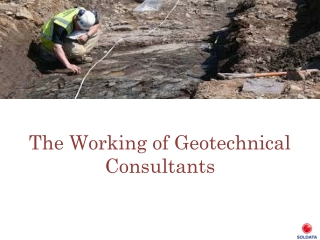 How Geotechnical Monitoring Affects Everyday Life