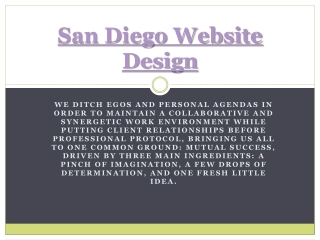 Graphic Design San Diego