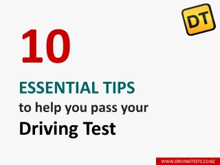 Essential Tips To Help You Pass Your Driving Test