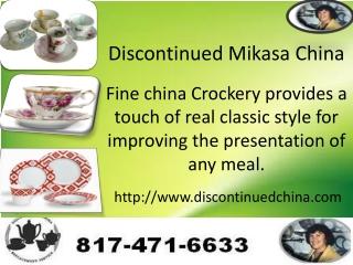 Mikasa,Lenox,Noritake china