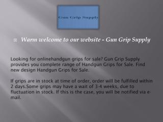 Gun Grip Supply