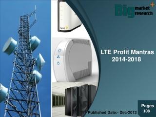 LTE Profit Mantras 2014-2018