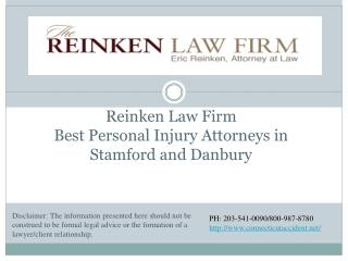 Reinken Law Firm Best Personal Injury Attorneys in Stamford