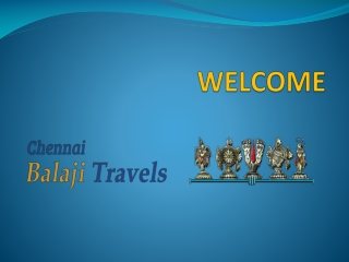 chennai to tirupati tour package