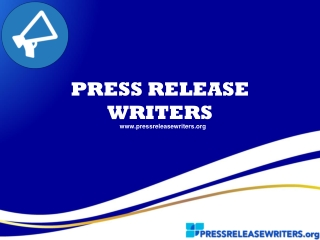 Press Release Writers