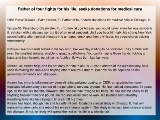 Father of four fights for his life, seeks donations
