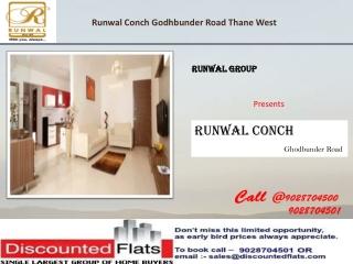 Runwal Conch Ghodbunder Road Thane Mumbai by Runwal Group