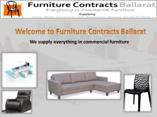 Commercial Furniture Australia