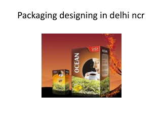 Packaging designing in  delhi ncr