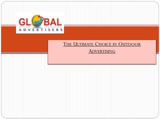 Outdoor Advertising Presence Creators - Global Advertisers