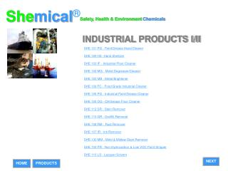 industrial products i